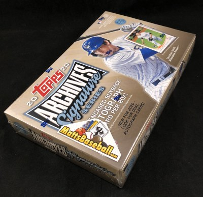 2020 TOPPS ARCHIVES SIGN BB