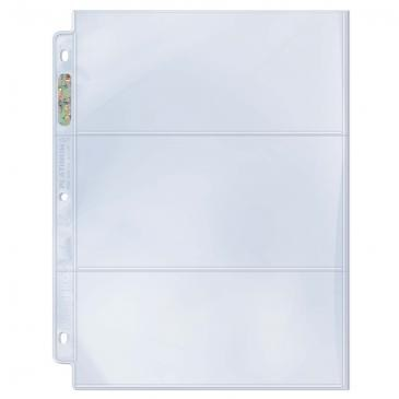 ULTRA-PRO 3 POCKET PAGES 100CT