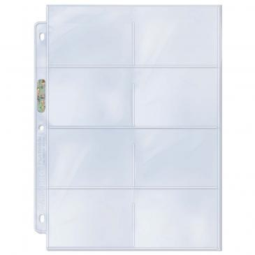 ULTRA-PRO 8 POCKET PAGES 100CT