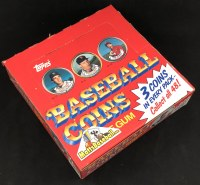 1987 TOPPS COINS BB
