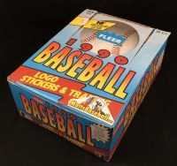 1990 FLEER BB WAX BOX