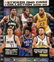 19/20 PANINI NBA STICKER ALBUM