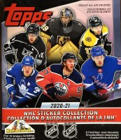 20/21 TOPPS NHL STICKER ALBUM