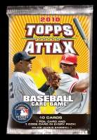 2010 TOPPS ATTAX BB BOOSTER