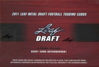 2011 LEAF DRAFT METAL FB