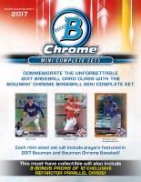 2017 BOWMAN CHROME BB MINI F/S