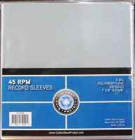 CSP 45-RECORD SLEEVES 100CT