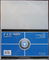 "CSP 8"" X 10"" PHOTO SLEEVES"