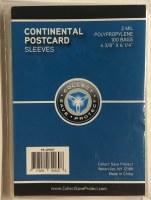 CSP CONTINENTAL POSTCARD SLVS