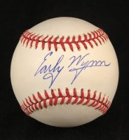 EARLY WYNN AUTO BASEBALL JSA
