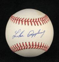 LUKE APPLING AUTO BASEBALL JSA