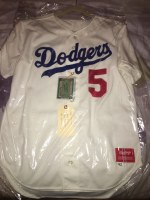 PAUL RUSSO DODGERS JERSEY