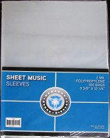 CSP SHEET MUSIC SLEEVES