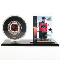 SG ACRYLIC PUCK & CARD HOLDER
