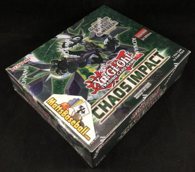 YUGIOH CHAOS IMPACT BOOSTERS