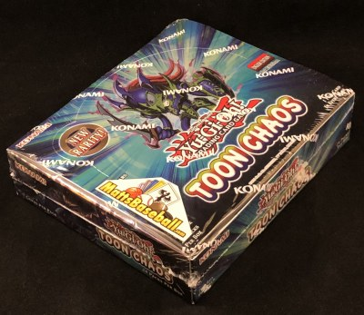YUGIOH TOON CHAOS BOOSTERS