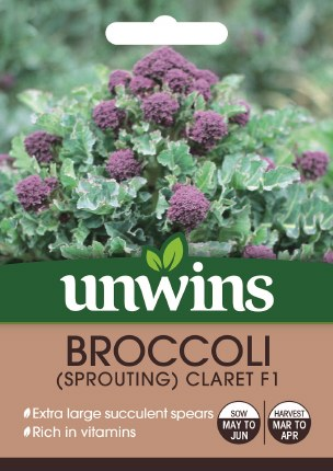 Broccoli (Sprouting) Claret F1