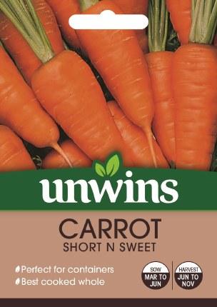 Carrot (Patio) Short N Sweet