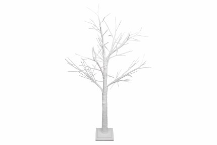 Christmas White Spiky Twig Tree 125cm