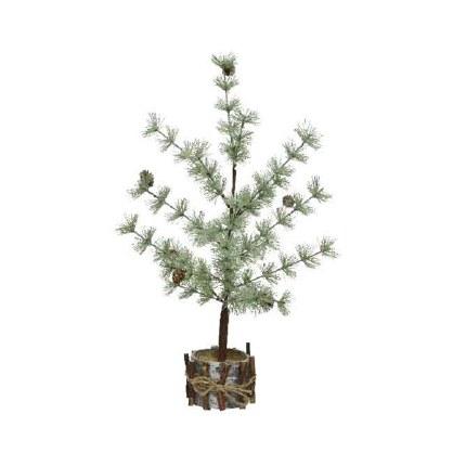 Christmas Tree with Pinecones 25 x 25 x 60cm