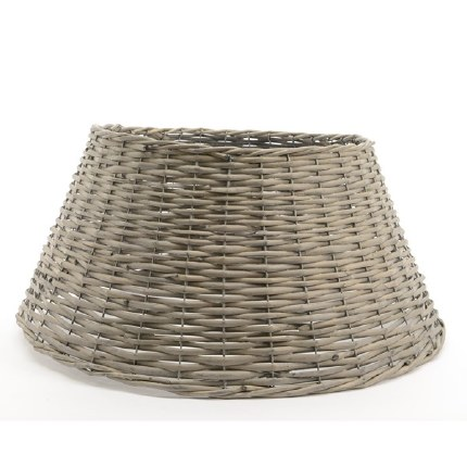 Christmas Tree Willow Ring For Base of Tree Grey Washed 70x28cm
