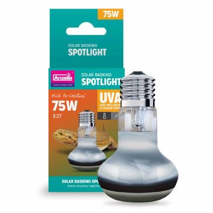 Arcadia Solar Basking Spotlight 75 Watts