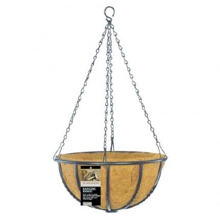 Gardman  Blacksmith Hanging Basket 12 in