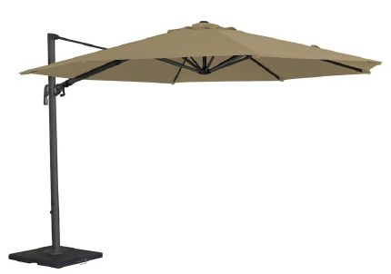 Alexander Rose 3.5m Cantilever Parasol Taupe