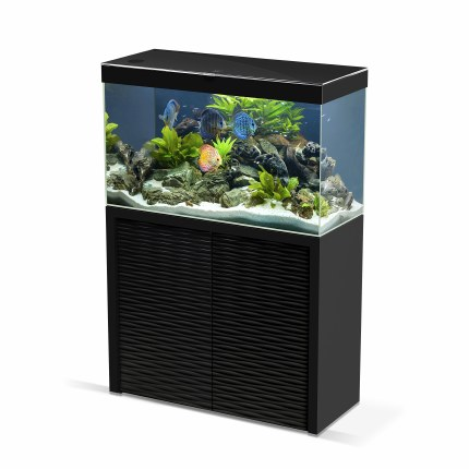 Ciano Emotions One 100  Black Aquarium With Black Cabinet