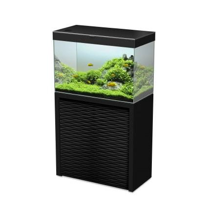 Ciano Emotions One 80 Black Aquarium With Black Cabinet