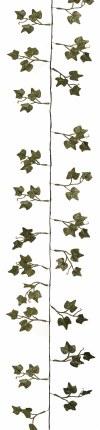 Christmas Garland Ivy Glitter Green 1.8m