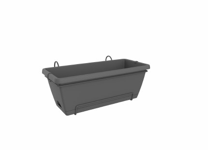 Elho Barcelona XL All In One 55cm Anthracite