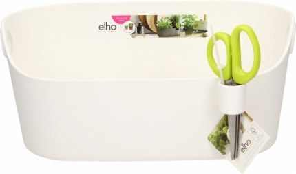 Elho Brussels Herb Station Flowerpot White
