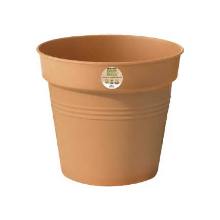 Elho Green Basics Growpot 24cm Mild Terracotta Colour