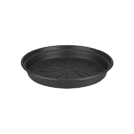 Elho Green Basics Saucer 14cm Living Black Colour