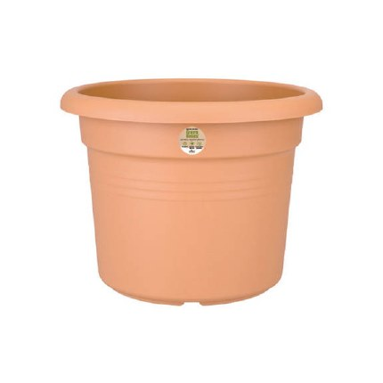 Elho green Basics Cilinder 40cm Terracotta Colour