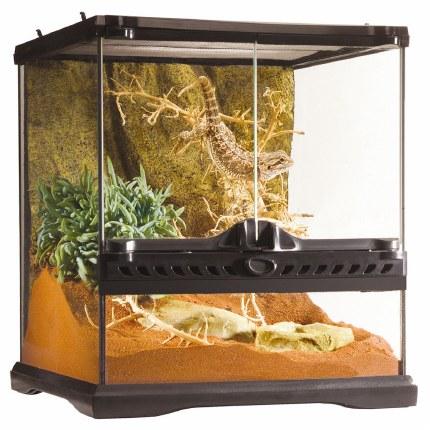 Exo Terra Glass Terrarium Mini Wide 30cm x 30cm x 30cm