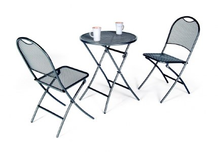 Kettler Cafe Roma 2 Seater Foldable Bistro Set