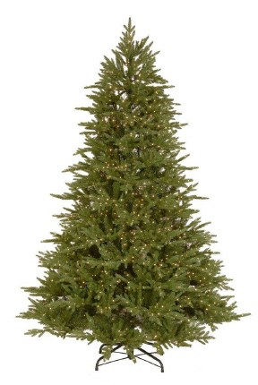 Mount Harvard Spruce 7.5 Foot  Pre-Lit Artificial Christmas Tree with 2000 Warm White LED Lights