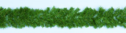 9 Foot Canadian Pine Christmas Garland 270cm x 20cm