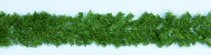 9 Foot Christmas Garland Canadian Green 270cm x 30cm