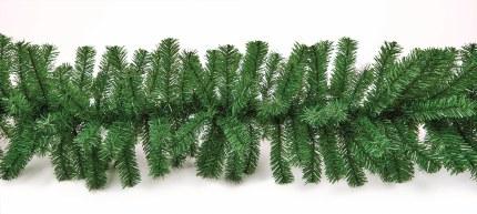 9 Foot Christmas Garland Green 2.7m