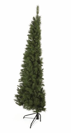 Half Christmas Tree.Premier Dual Purpose Corner Half Wall Slim Artificial Christmas Tree 6 5 Feet Tall