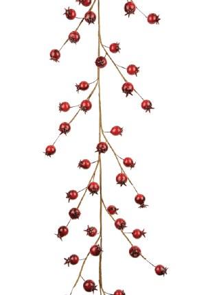 Christmas Classic Rosehip Garland 150cm