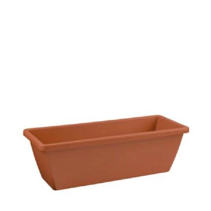 Elho Barcelona Trough 50cm Terracotta Colour