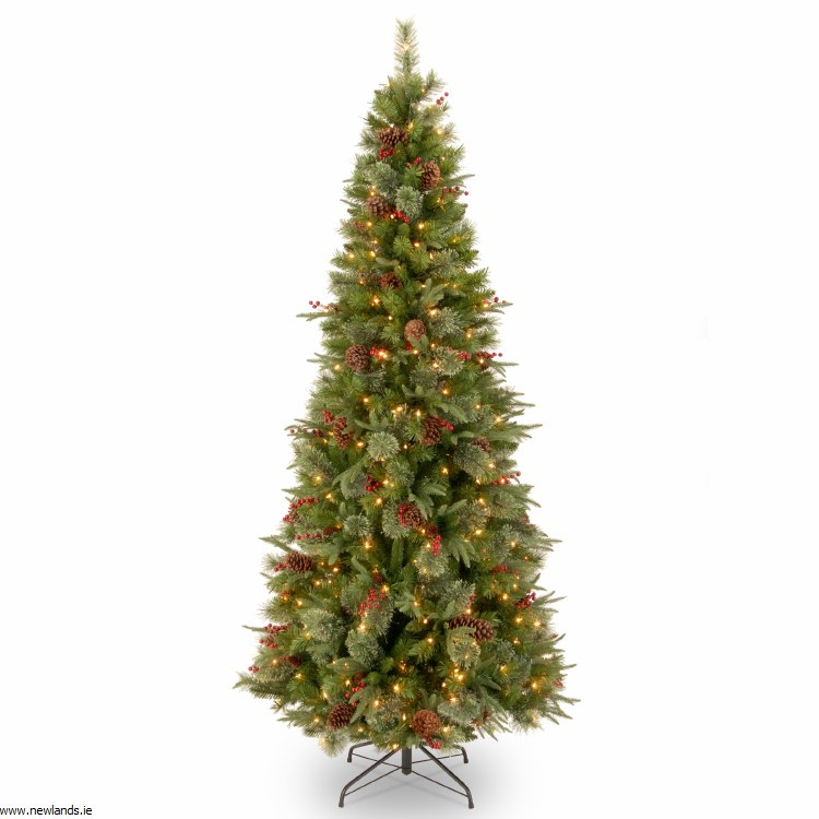 new product 26d56 c4ae7 Colonial 7.5 Foot Pre-Lit Artificial Christmas Tree With 400 Warm White  Lights