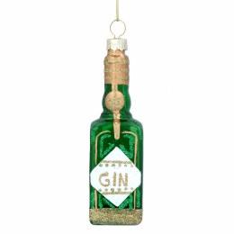 Christmas Decoration Bottle Of Gin 10cm