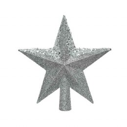 Christmas Tree Topper Star with Glitter 20cm