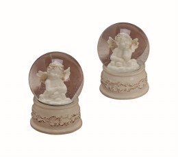 Angel Decoration Waterball with Musicbox  13cm