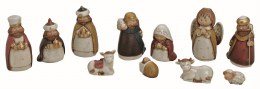 Childrens Christmas Nativity Set 11cm